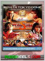 NJPW Wrestle Kingdom 8 now available on Blu-ray!