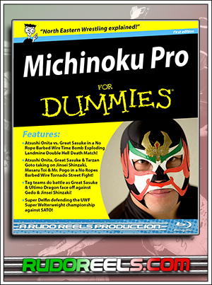 BD Thumbnail - Michinoku Pro for Dummies - First Edition